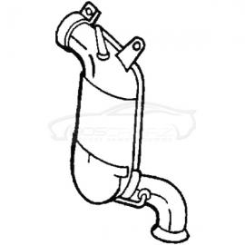 Katalizator Bosal 090-405 MERCEDES A-Klasse A160 A180 A200 W169 2.0 TD 04-12