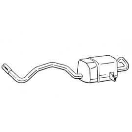 Tłumik końcowy Bosal 280-815 RENAULT Scénic II 1.5 dCi Turbo Diesel 2002-2009