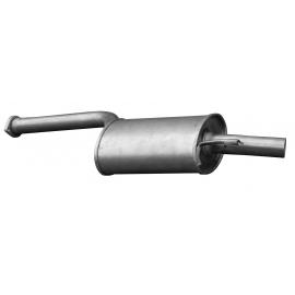 Tłumik środkowy Asmet 01.023 MERCEDES W124 S124 200 200E 200D 230 230E 84-93