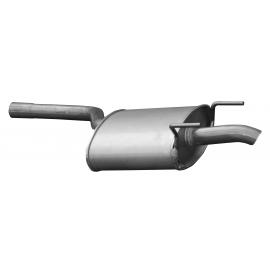 Tłumik końcowy Asmet 01.053 MERCEDES C180 C200 W202 T202 1.8i 2.0i SED KOM 95-01