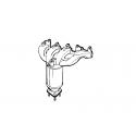 Katalizator Bosal 090-015 ASTRA G H GTC ZAFIRA A
