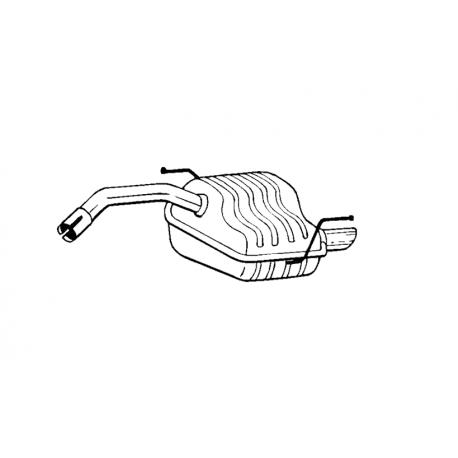 Tłumik końcowy Bosal 100-169 ALFA ROMEO 147