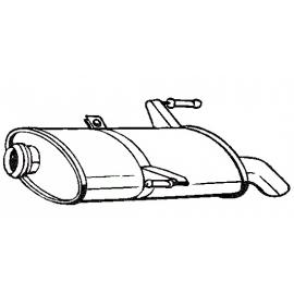 Tłumik końcowy Bosal 190-501 PEUGEOT 206
