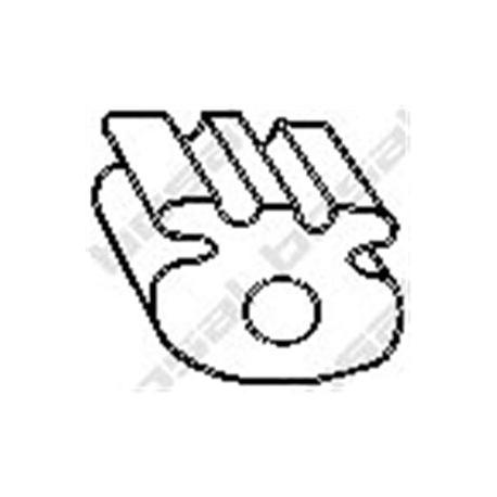 Element gumowy Bosal 255-837