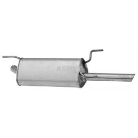 Tłumik końcowy Asmet 05.107 Opel Vectra B 1.6i