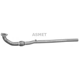 Rura kolektorowa Asmet 05.121 Opel Meriva A 16i 16V