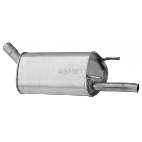 Tłumik końcowy Asmet 05.127 Opel Corsa B 1.0 12V